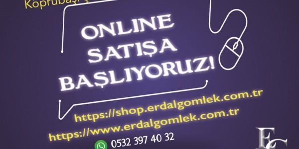 Köprübaşı Mağazamızda Online Satış başladı